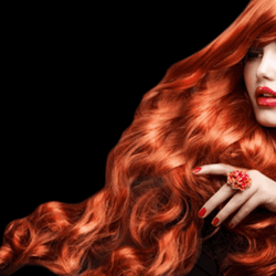 Organic Orange-Red Henna Hair Dye