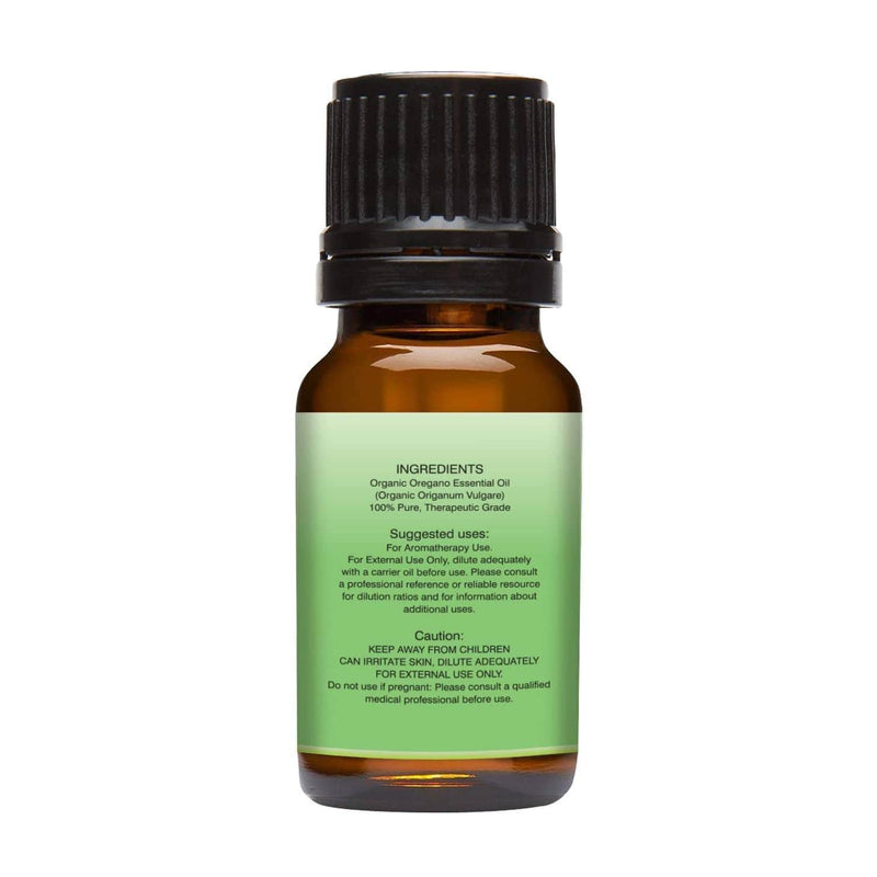 Organic Oregano Essential Oil left back