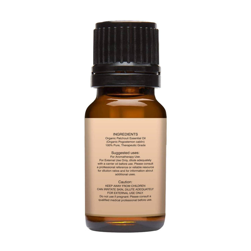 Organic Patchouli Essential oil.