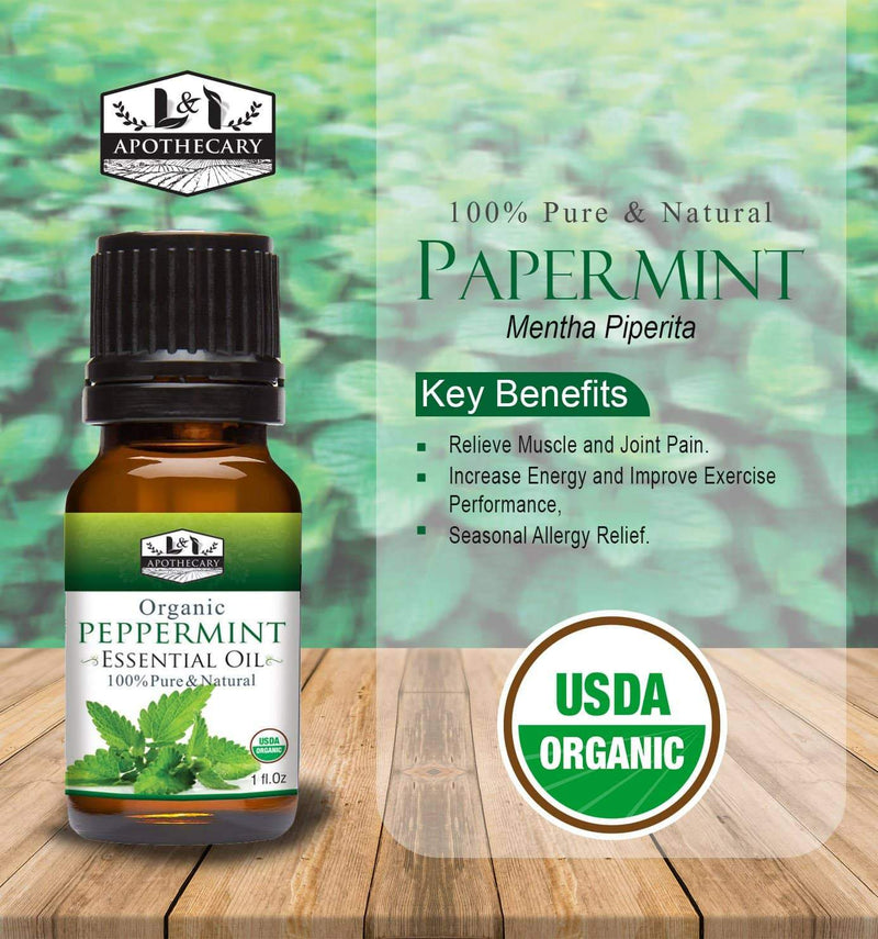 Organic Peppermint Essential Oil slide