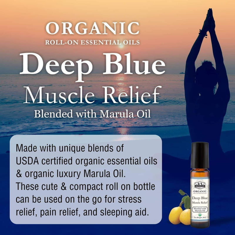 Organic Roll on Essential Oils (muscles Relief) slide