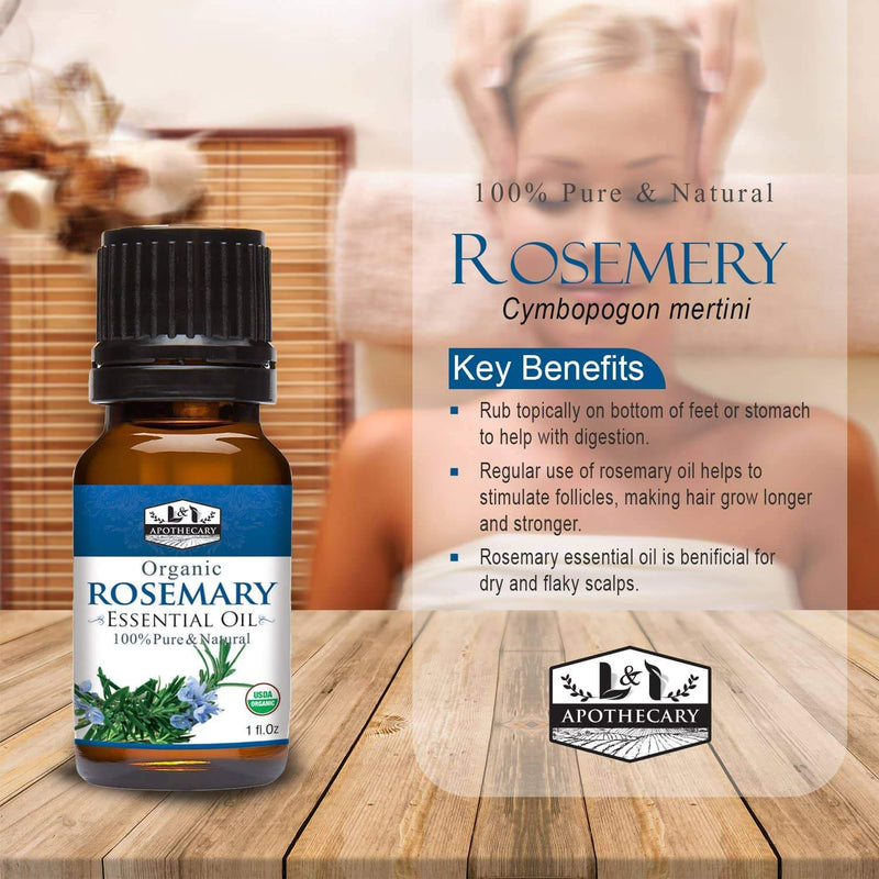 Organic Rosemary Essential Oil slide