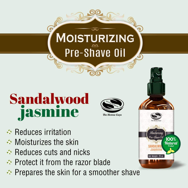 Preshave Oil (sandalwood Jasmine) Benefits
