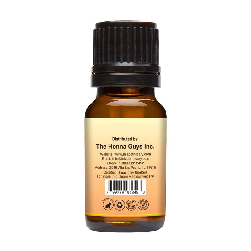 Organic Turmeric Essential Oil right back