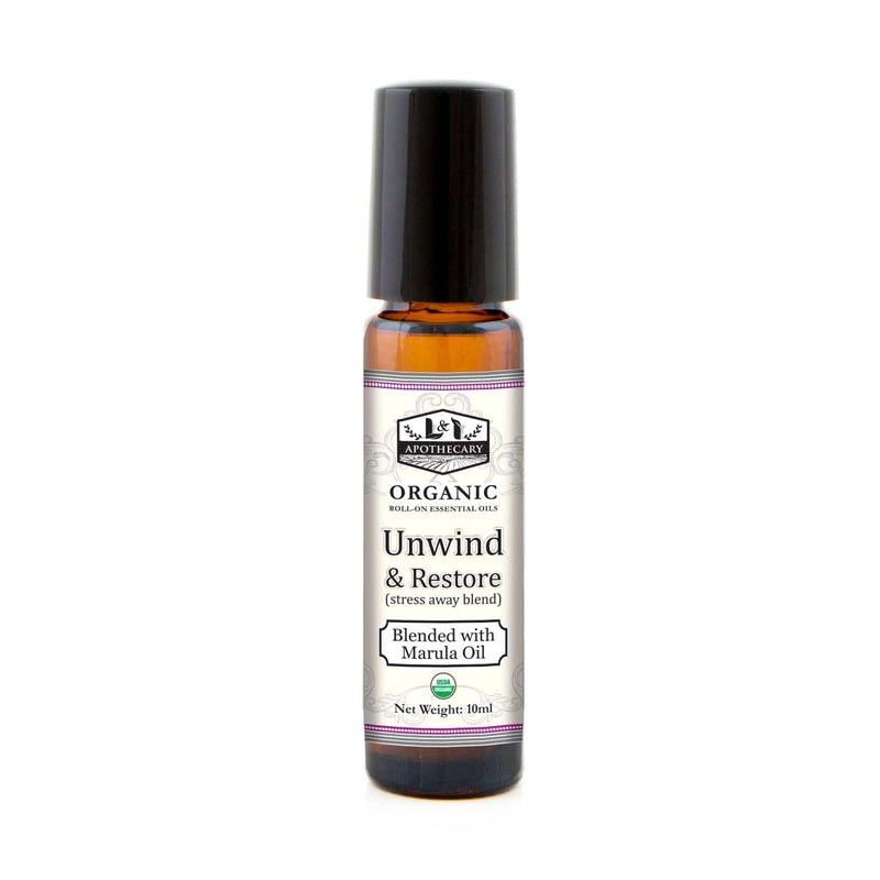 Organic Roll on Essential Oils (Unwind & Restore)
