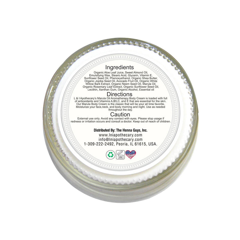Whipped Face & Body Massage Creams (Bliss full earth) back