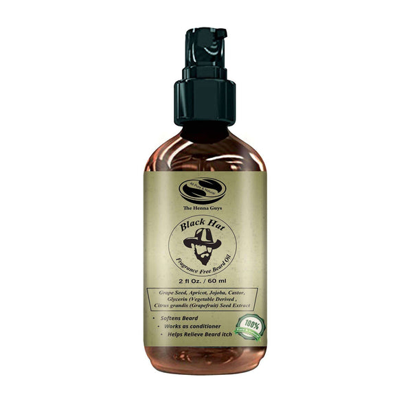 Black Hat Beard Conditioning Oil