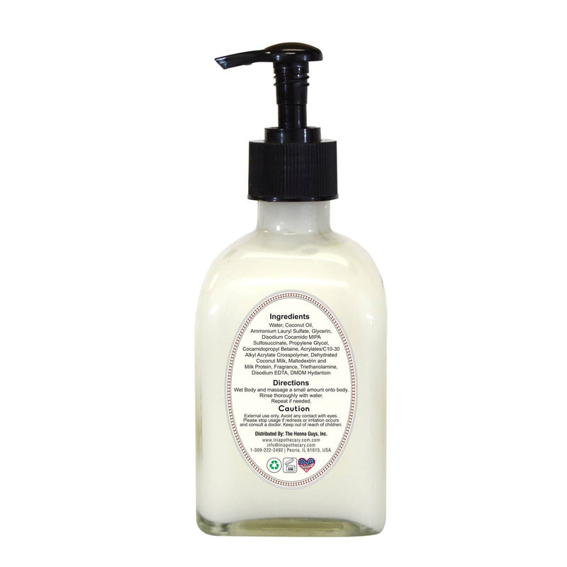 Luxurious Whipped Coconut Body Wash back