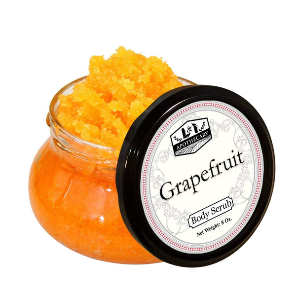 Grapefruit Dead Sea Salt Body Scrub