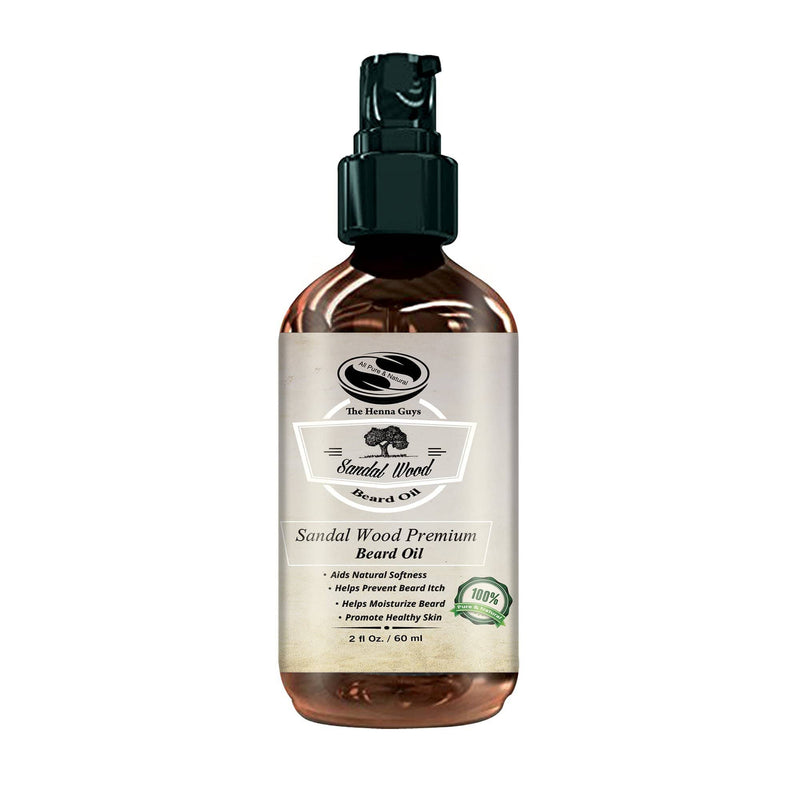 Sandalwood Beard Conditioning Oil