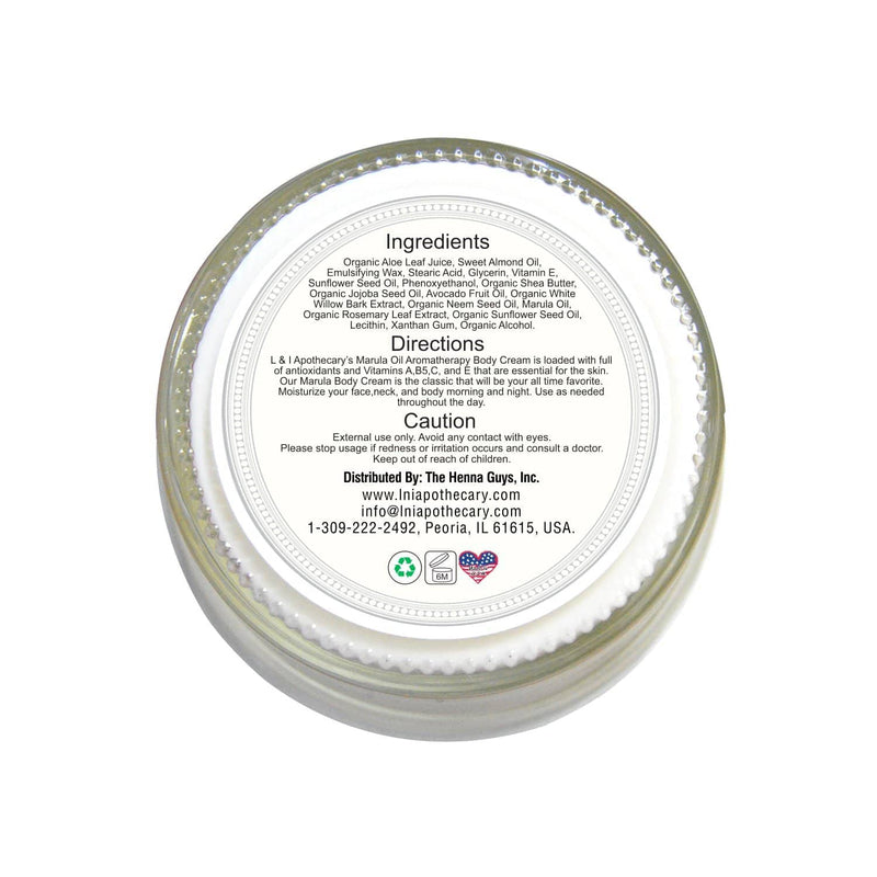 Whipped Face & Body Massage Cream (original) back