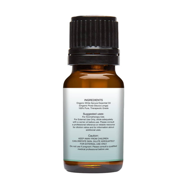 Organic White Spruce Essential Oil left back