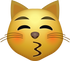 Download Kiss Cat Emoji