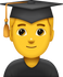 Download Graduated Man Emoji