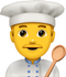 Download Cooking Man Emoji