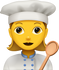 Download Cooking Woman Emoji