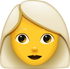 Download Grey Hair Woman Emoji