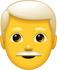 Download Grey Hair Man Emoji