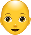 Download Bald Woman Emoji