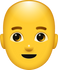Download Bald Man Emoji