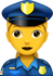 Download Police Woman Emoji