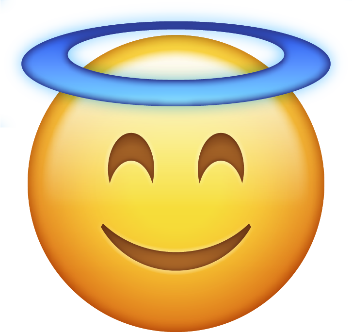 Download Angel Halo Emoji Icon