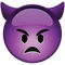Download Angry Devil Emoji Icon