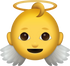 Download Baby Angel Iphone Emoji JPG