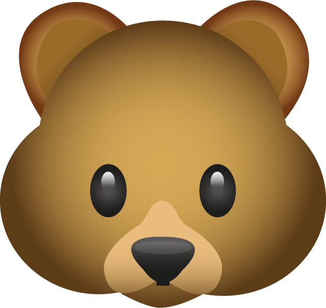 Download Bear Emoji In PNG
