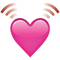 Download Beating Pink Heart Emoji Icon