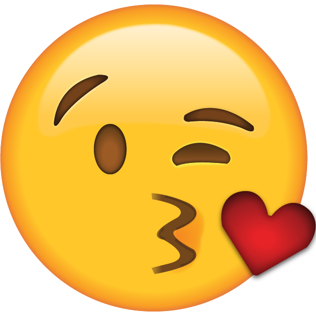 Download Kiss Emoji [Free Apple Emoji Images]