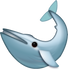 Download Blue Whale Iphone Emoji JPG