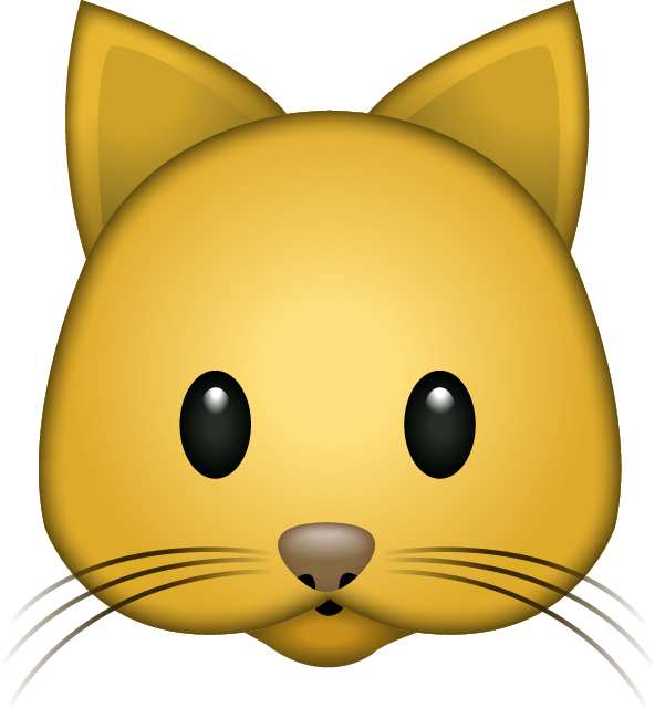 Download Cat Emoji In PNG
