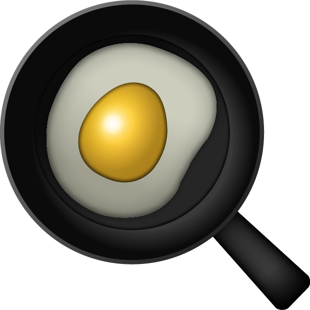 Download Cooking Egg Emoji