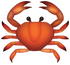 Download Crab Iphone Emoji JPG