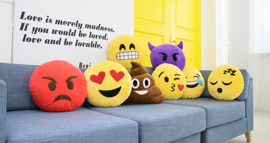 Emoji Pillows Emojis Pillow