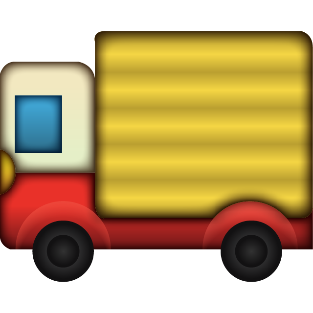 Download Delivery Truck Emoji