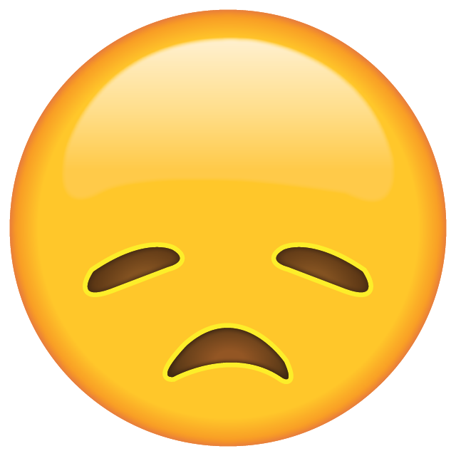 Download Disappointed Face Emoji