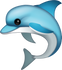 Download Dolphin Iphone Emoji JPG