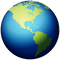 Download Earth Globe Americas Emoji