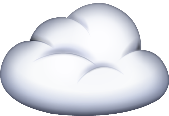 Download Cloud Emoji In PNG