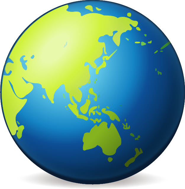 Download Earth Globe Asia Emoji In PNG