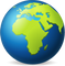 Download Earth Globe Europe Africa Emoji In PNG