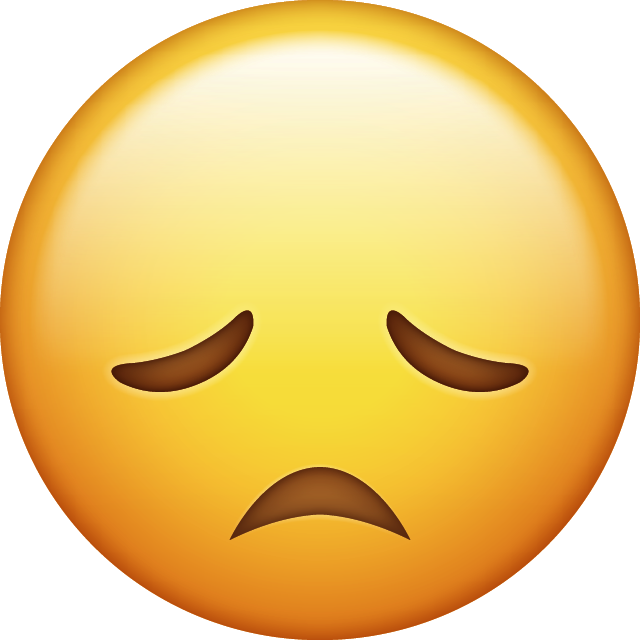 Download Super Sad Iphone Emoji Image