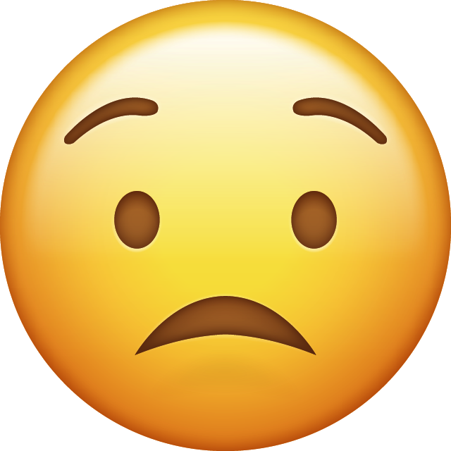 Download Emoji Icon Worried Emoji