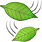 Download Leaf Falling Emoji In PNG
