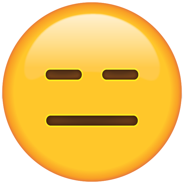 Download Expressionless Face Emoji
