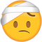 Download Face With Head-Bandage Emoji
