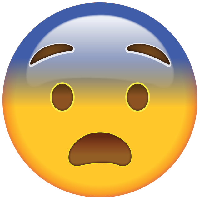 Download Fearful Face Emoji
