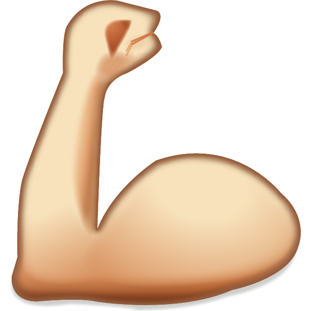 Download Flexing Muscles Emoji